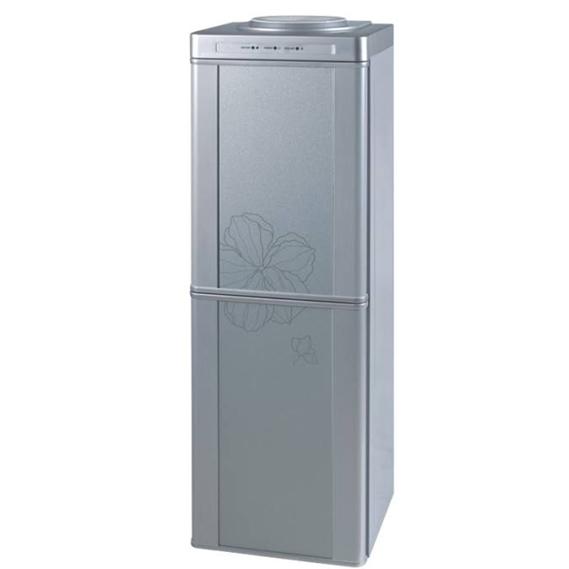 Floor standing Glass door water dipsenser with cabinet/refrigerator, bottle top cooler