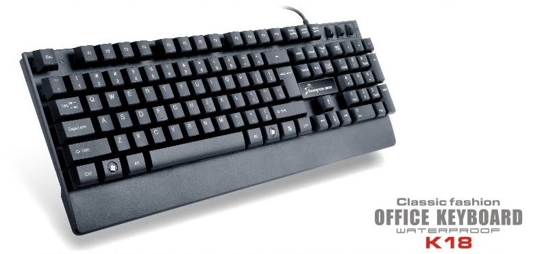 wired standard computer business keyboard