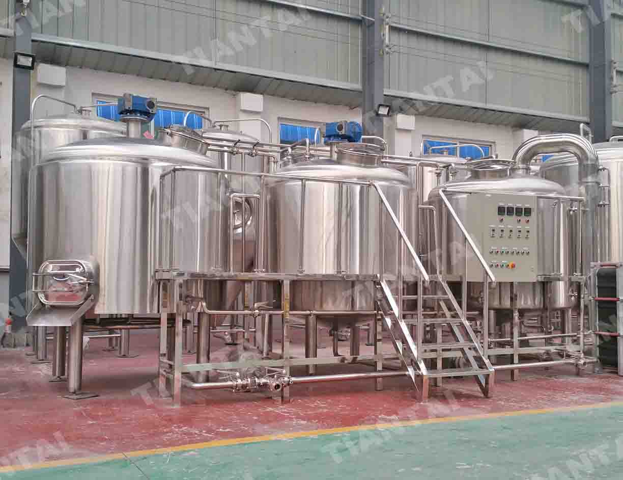 600L Electric Brewhouse With CE ISO