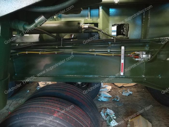 Hydraulic modular trailer, Goldhofer trailer, Module trailer