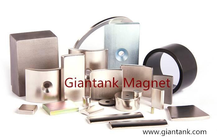 Neodymium magnets N25UH--N45UH for SERVO motors