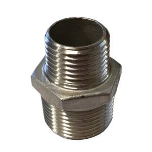 stainless steel hexagon male coupling