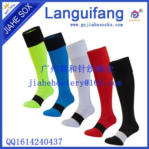 Top Quality Cotton Long Football Socks