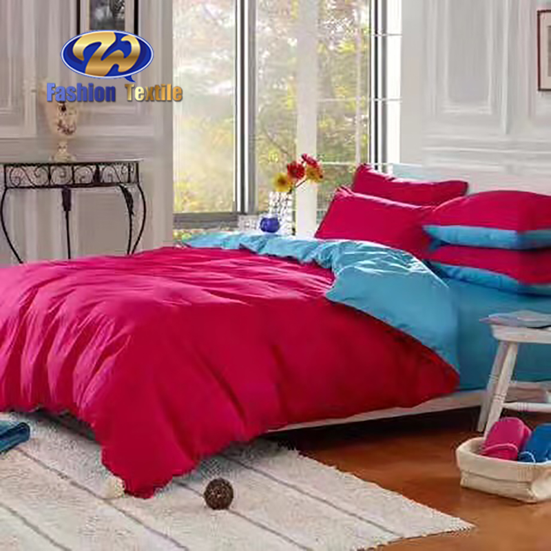 Cheap red and blue full bedding sets for women