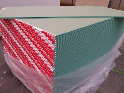 Fire-Resistant Gypsum Board