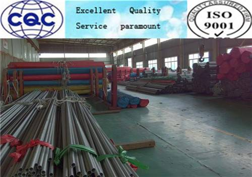 ASTM A312 stainless steel seamless tubes