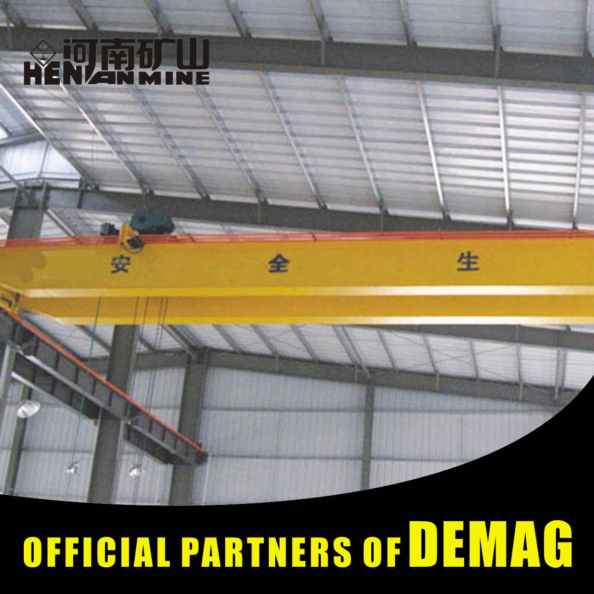 100 100 Tons 100T 100T Qdy Double Girder Foundry Type Overhead Crane From Xinxiang
