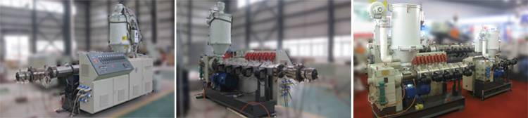 Series of high output single screw extruder