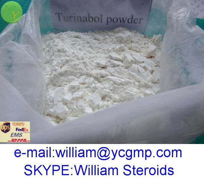 High Quality Turinabol Raw Steroid Powder 4-Chlordehydromethyltestosterone