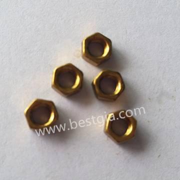 DIN934 Brass hex nut
