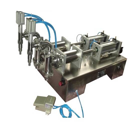 Two Head Liquid Filling Machine