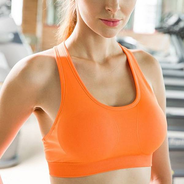 Cups Removable Yoga Fitness Wear Custom Bra