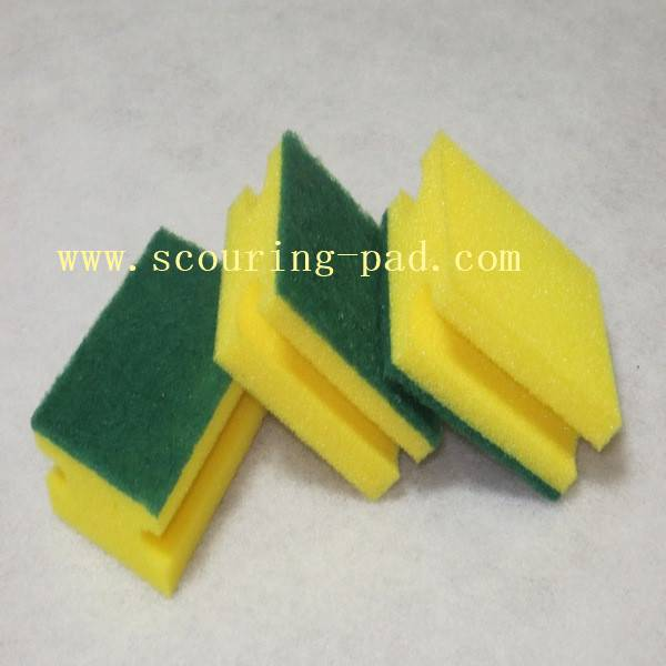 kitchen sponge scouring pads