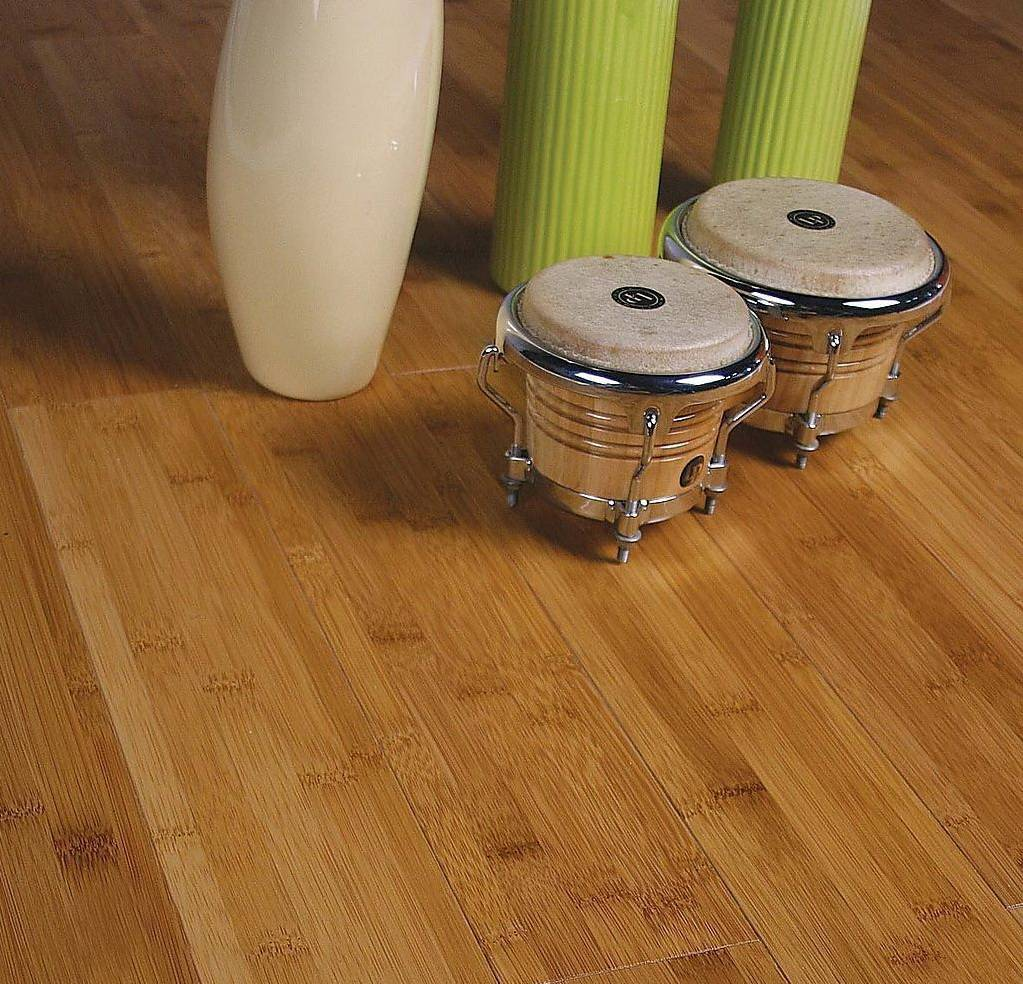 carbonized color environmental bamboo flooring from China supplier