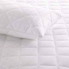 Microfiber waterproof Quilted pillow protector/pillow cover