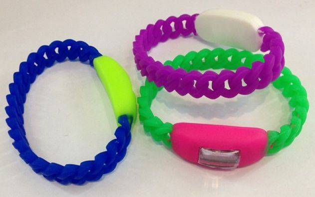 candy twisted silicone promotional silicone watch sport wristwatches