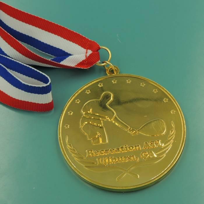 factory supply mirror tennis Championships Medal Meddlion