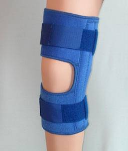 Sporting protection pad & loop for knee, thigh, shank, ankle.