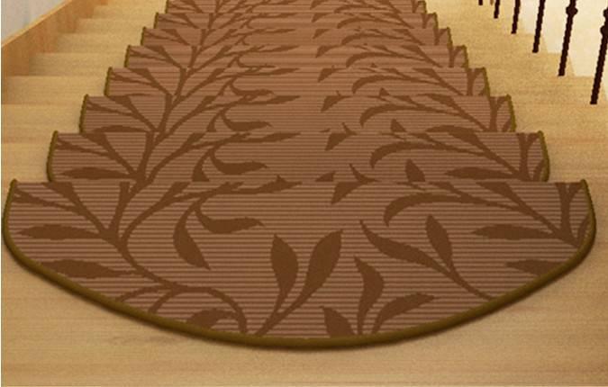 Non-slip nylon printed stair treads mat