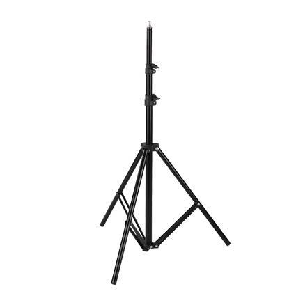"186cm Steel Light Stand with 1/4""and 3/8""Spigot"