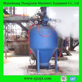Fully enclosed Pneumatic conveyor for steel plant
