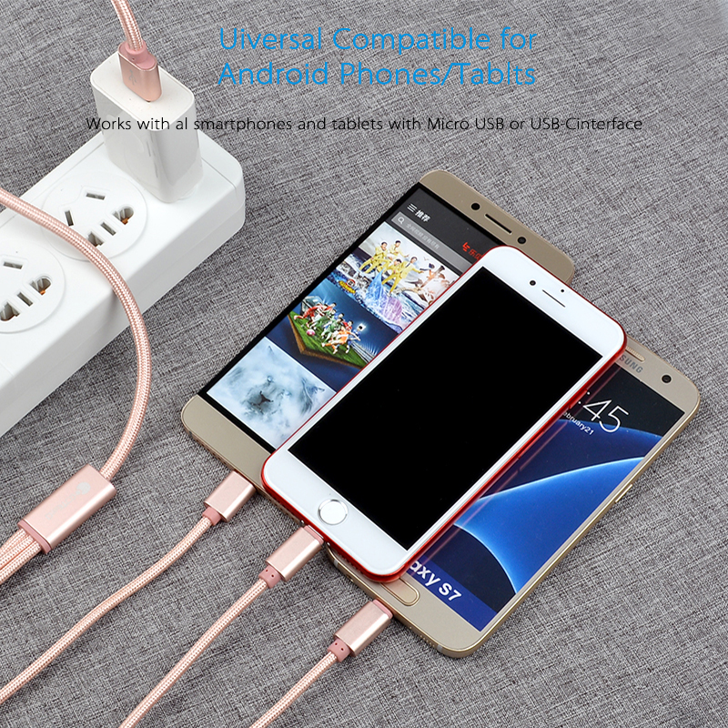 2017 hot sale product Fast charging micro usb cable