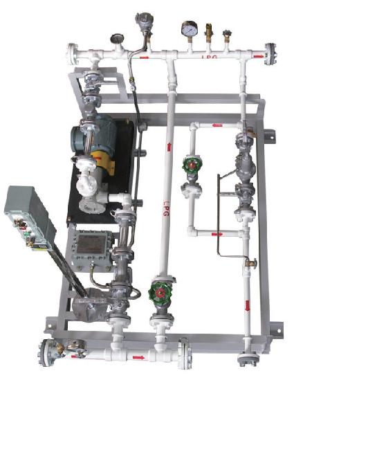 LPG feed pump skid