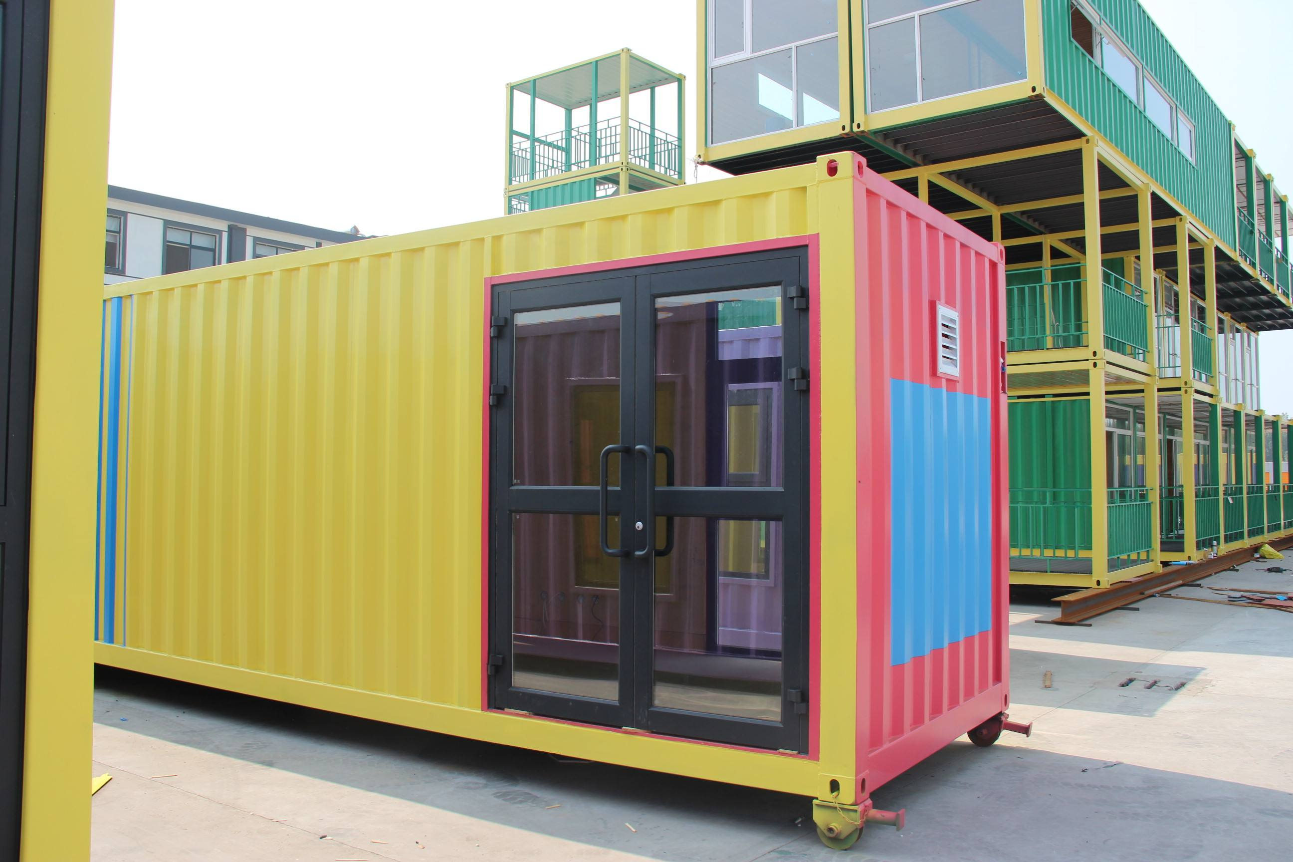Beautiful Environment-friendly Modern Modified Container house