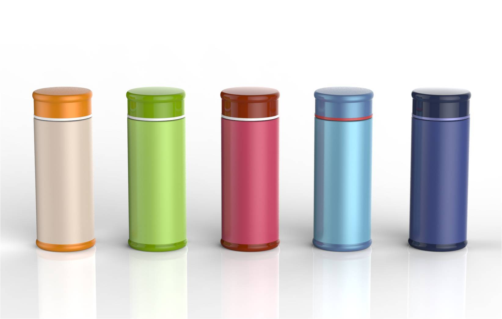 NEW TYPE COLORFUL VACUUM FLASK