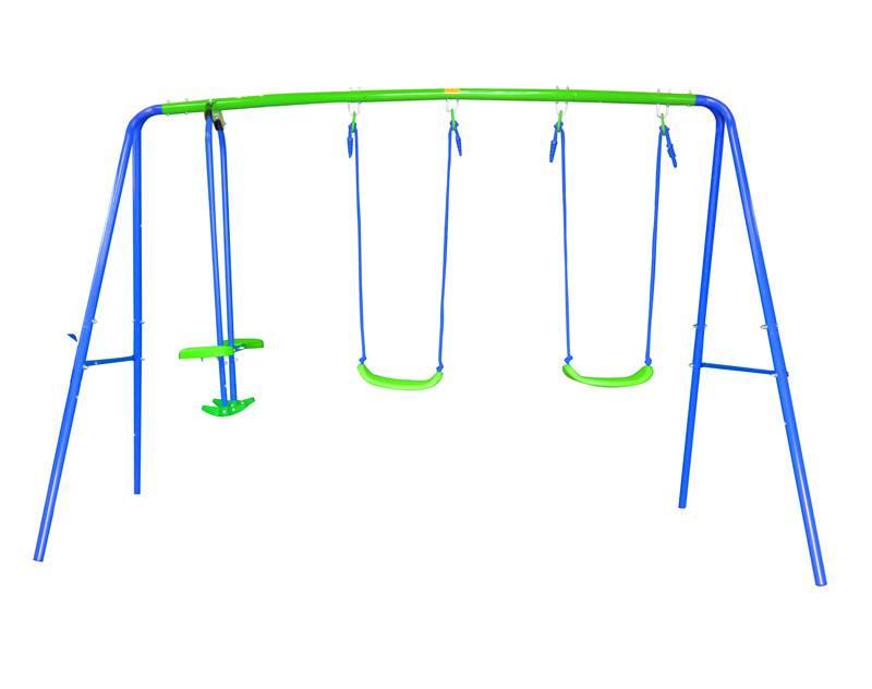 Kids Outdoor Multi Function Swing Set