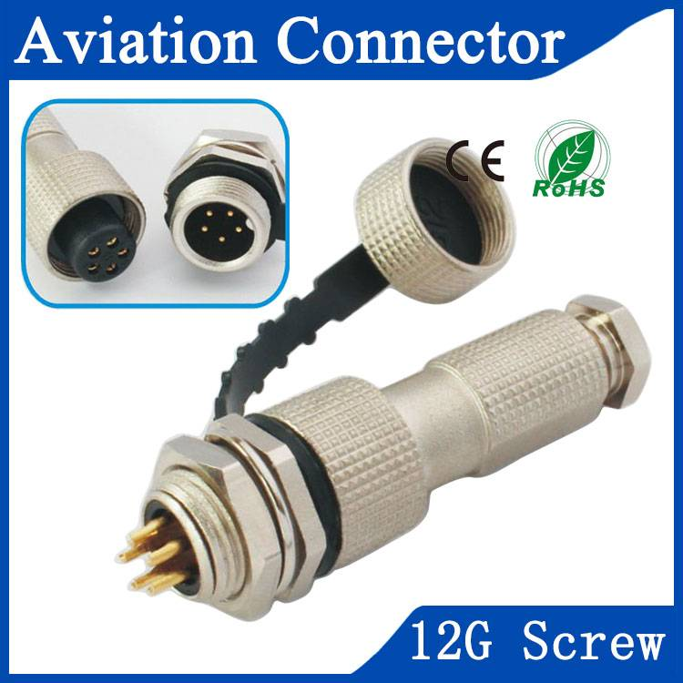 12G aviation equipment connector