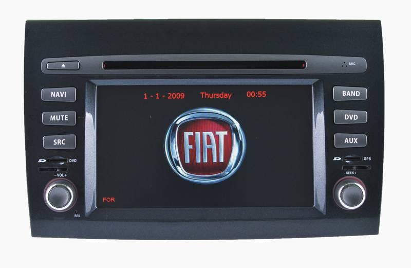 FIAT Bravo DVD navigation