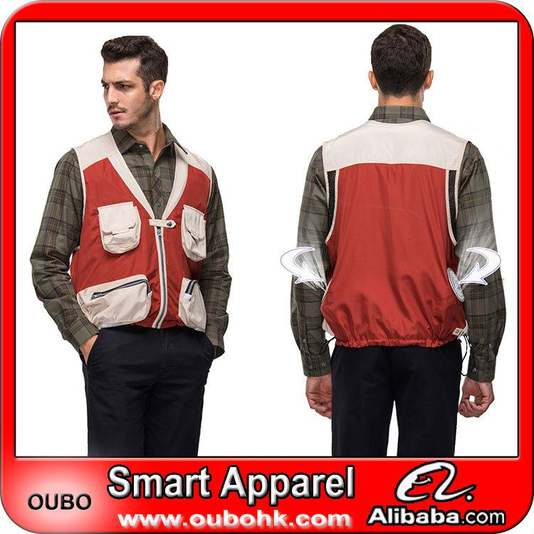 Cooling vest with electric cooling system For Hot Environment Outdoor Working OUBOHK