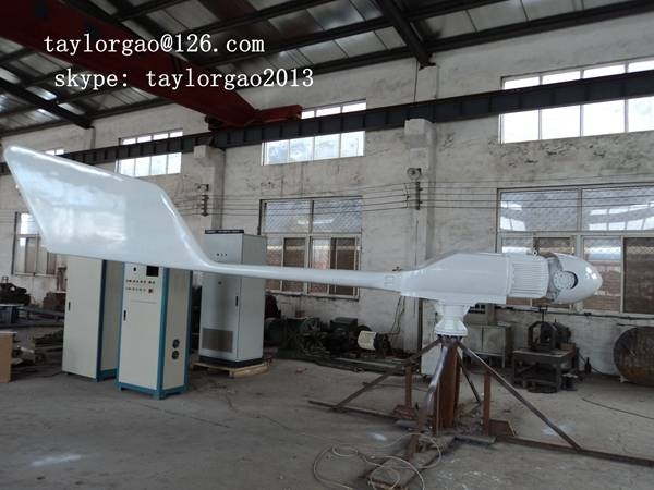 YANENG centrifugal pitch controlled wind turbine 10kw