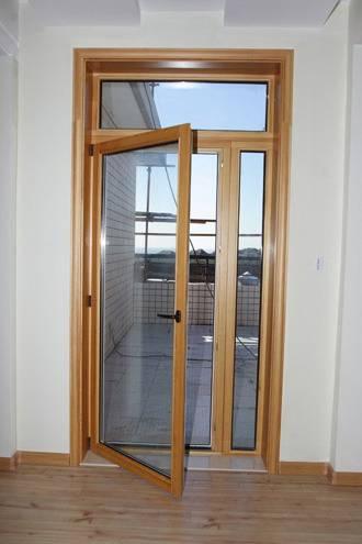 75 Series Aluminum-Clad Wood Door