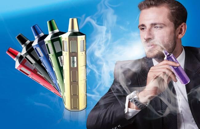 2015 hot sale big vapor O2 vaporizer pen with 6 different trmperature lights