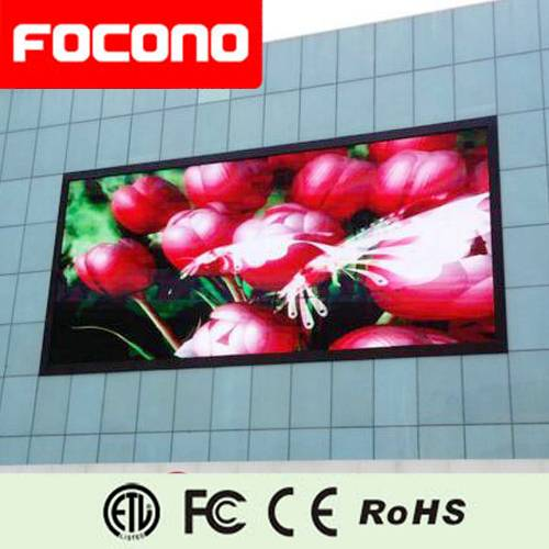 Outdoor Advertising  LED Display with 8 Years Warranty
