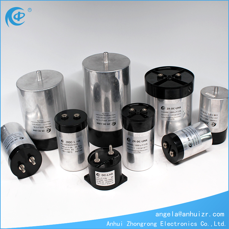 Aluminum Can Dry Film Capacitor For Solar Power Invert and Wind Power Inverter