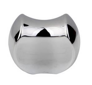 chrome plated wardrobe handle knobs drawer knob