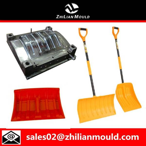 2015 Taizhou durable plastic snow shovel injection molding for sale
