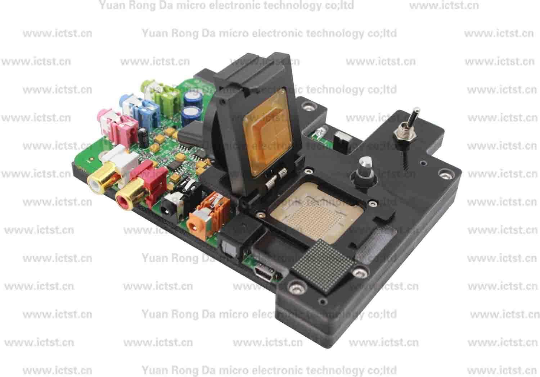 CA0189 test socket audio chip testing BGA testing solution