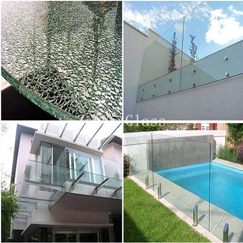 High Quality Tempered Glass for Pool