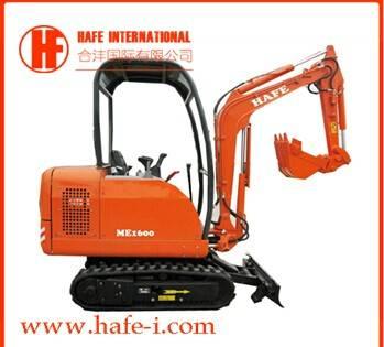 ME1600 Mini Cralwer excavator