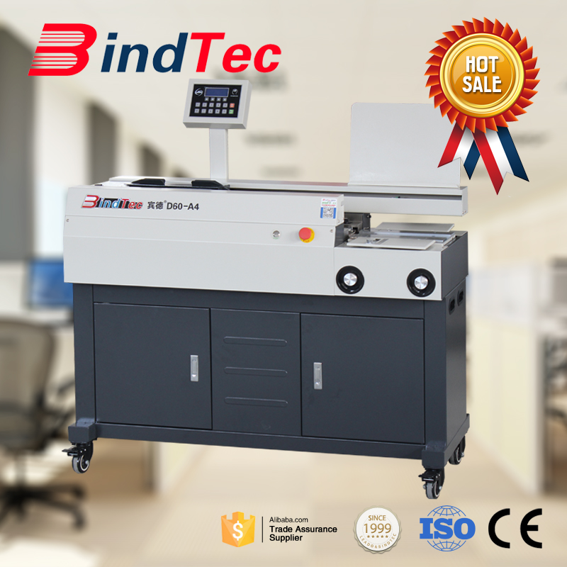 BD-D60-A4 Automatic Perfect Book Binding Machine A4 Size