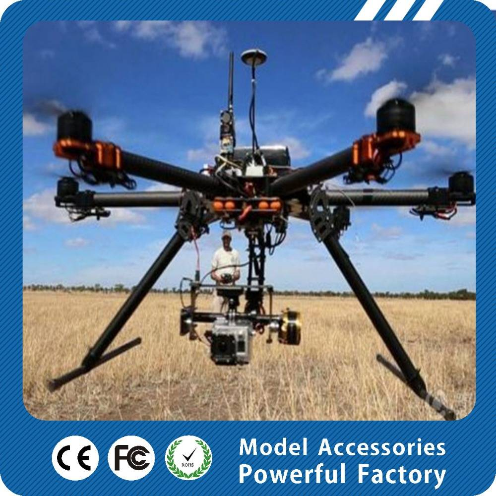 Professional aerial 6 axis 680 folding machine four axis drone aircraft model model aircraft parts o