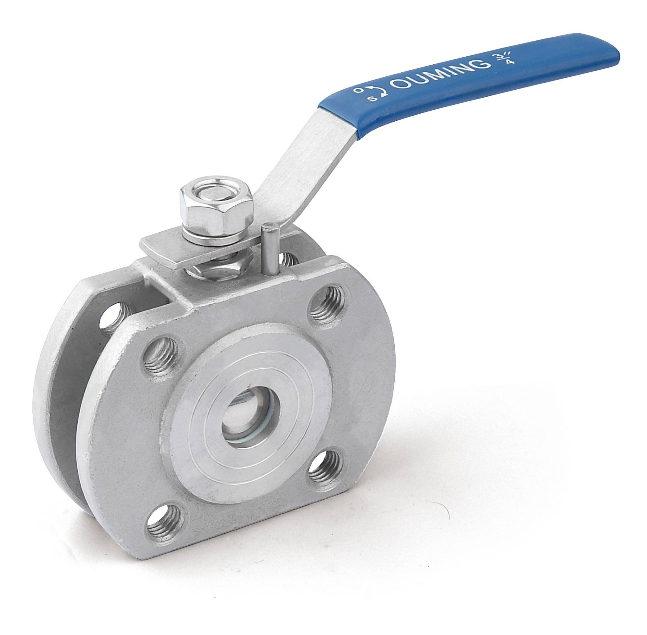 Stainless Steel Wafer Type Ball Valve