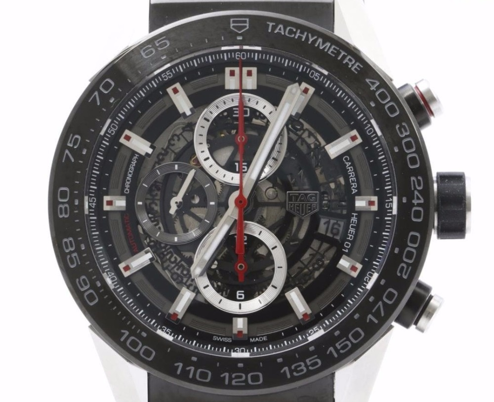 Used TAG Heuer Watches CARRERA CAR2A1Z FT 6044 Wristwatches for Bulksale.