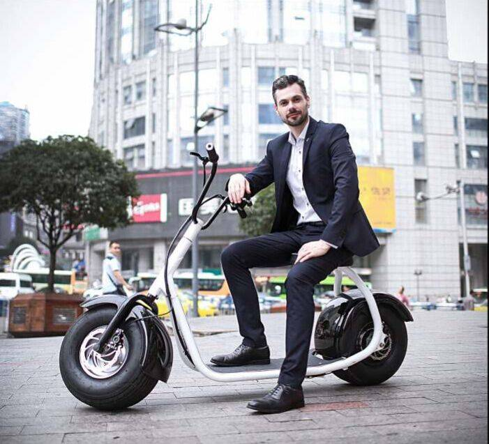 CE approved Citycoco 2 wheel self balancing electric mobility scooter