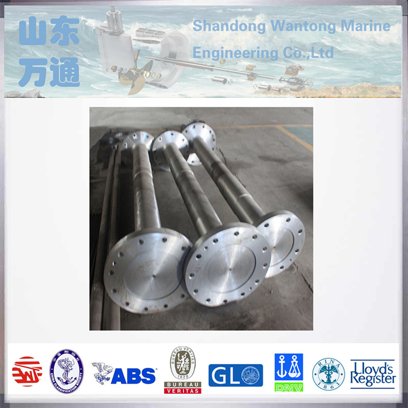 Marine propeller intermediate shaft forged steel counter shaft with ship parts