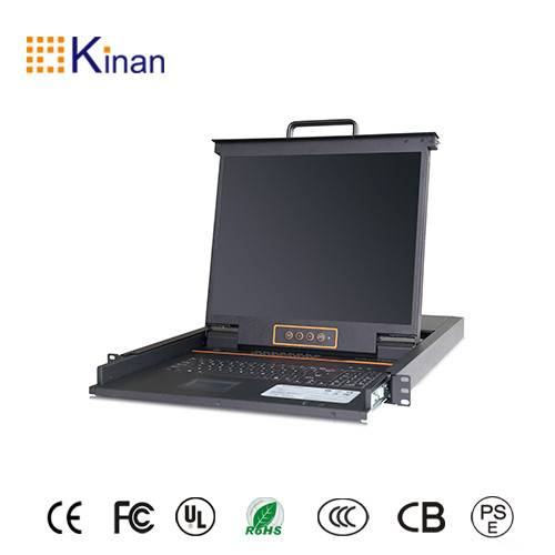 "19"" lcd monitor kvm with 16 port vga kvm switch"